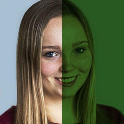 SiTesta's Aike van den Brand portret groen