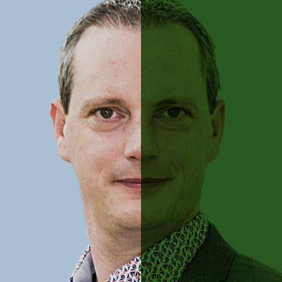 SiTesta's Bart Kuijpers portret groen