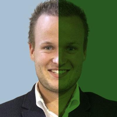SiTesta's Boy Jacobs portret groen