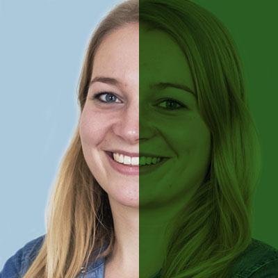 SiTesta's Lisanne Boumans portret groen