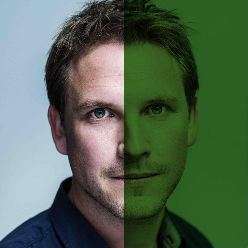 SiTesta's Sjoerd Jochems portret groen